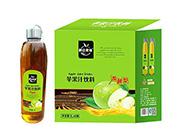 鹏达果缘发酵型苹果汁饮料1Lx6瓶