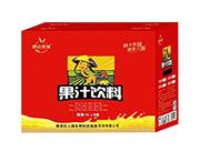 鹏达果缘果汁饮料1lx8盒