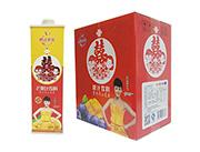 鹏达果缘红双喜芒果汁饮料喜宴果汁饮料1.5Lx6瓶