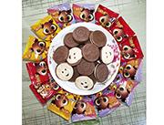 卡通世界巧克力曲奇饼干