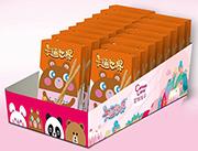 卡通世界花生酱味装饰饼干盒装