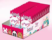 卡通世界草莓味装饰饼干盒装