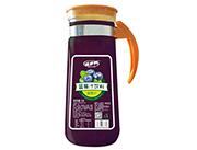 百多利蓝莓汁饮料1.5L手柄瓶
