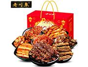 老川东麻辣牛肉干礼盒1.3kg