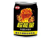 津君超能量强化牛磺酸运动饮料240ml