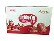 开口福核桃红枣蛋糕箱装