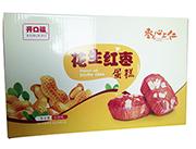 开口福花生红枣蛋糕