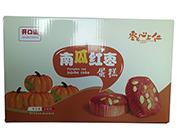 开口福南瓜红枣蛋糕