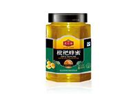成熟蜂蜜枇杷800g