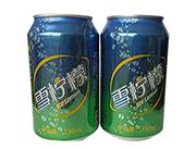 蓝发雪柠檬味饮料330ml