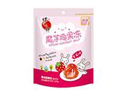 蜡笔小新草莓味魔芋椰果冻125g