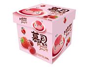 蜡笔小新水果综合口味慕司果冻纸盒300g