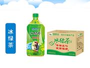 四季阳光 冰绿茶饮料 1L×8瓶