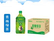 四季阳光 青梅绿茶饮料 1L×8瓶