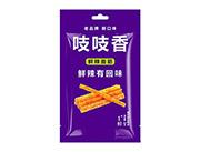 玉峰食品吱吱香鲜辣面筋麻辣小食品1度鲜65g