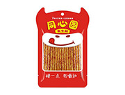 玉峰同心圆素牛筋麻辣食品休闲小食品36g