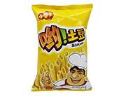 小拳头哟土豆滋香烤鸡味薯条膨化食品休闲零食70g