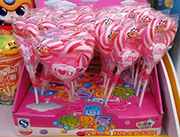 卡通糖果屋棒棒糖盒装