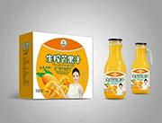 绿之源生榨芒果汁1.5Lx6瓶