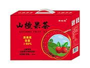 果时刻山楂果茶1lx4瓶