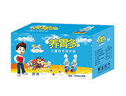 养胃多儿童成长型乳酸菌饮品原味200mlX24瓶(蓝)