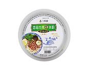 三养易食香菇牛肉鲜米粉245g盒装