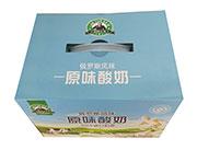蓝豹卡奇原味酸奶330mlx8瓶