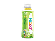 欢虎 柚子绿茶果味茶饮料500ml
