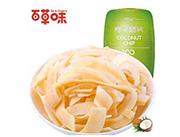 百草味椰子脆片80g