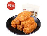 百草味�S金椰�z麻薯210g