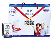 沁养堂中老年高钙低糖低脂复合蛋白饮品(横提礼盒)250ml×12盒