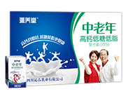 沁养堂中老年高钙低糖低脂奶
