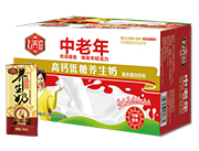 沁养道中老年高钙低糖养生奶