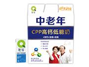沁养中老年CPP高钙低糖奶250ml×12盒