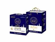 青岛养元经典牧场高钙奶复合蛋白饮品250mlX12盒(蓝)