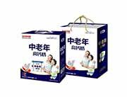 青岛养元 中老年高钙奶复合蛋白饮品250mlX12盒