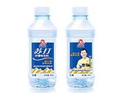 天坛山苏打水柠檬味350ml