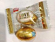 隆兴love金蛋巧克力糖