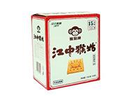 千兆隆江中猴菇苏打饼干咸味720g