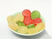 千兆隆三色水果糖散装