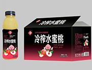 果浓冷榨水蜜桃588mlX15瓶