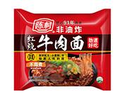 陈村红烧牛肉面袋装方便面100g