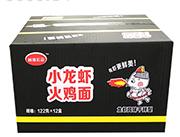 尚海宏运小龙虾火鸡面122gx12盒
