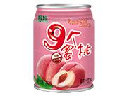 极智9个蜜桃蜜桃汁饮料240ml