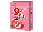 极智9个蜜桃蜜桃汁饮料手提袋
