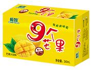 极智9个芒果芒果汁饮料箱装