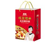 极智红豆薏米五谷精华粥手提袋