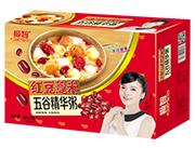 极智红豆薏米五谷精华粥320g箱装
