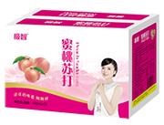 极智蜜桃苏打果味饮料500ml×15瓶