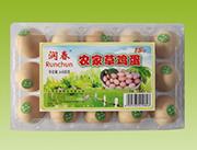 润春农家草鸡蛋15枚